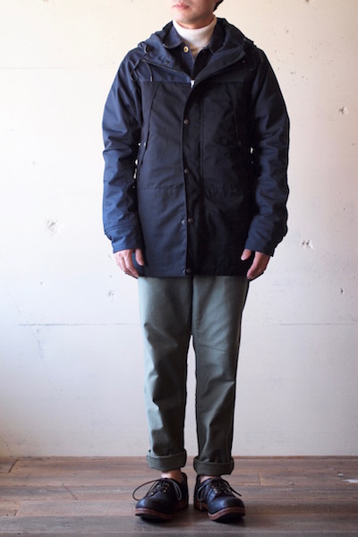 WORKERS Mountain JKT Ventile Type-B Top Navy-3