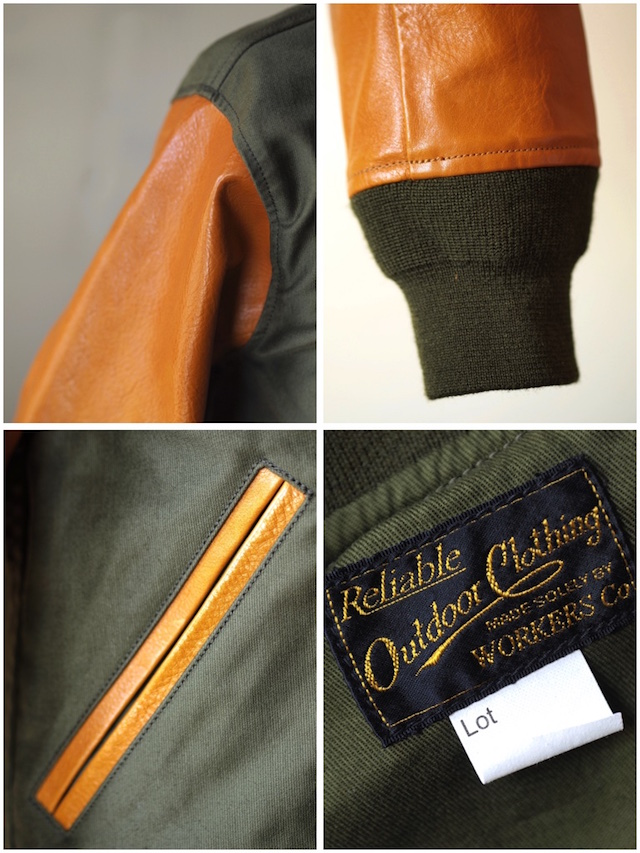 WORKERS N-1V JKT Jungle Cloth Khaki-7