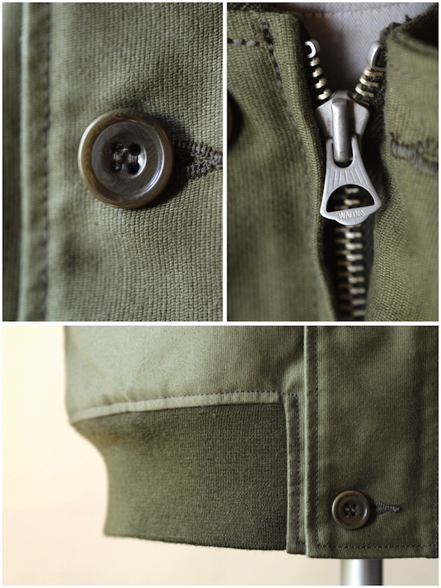 WORKERS N-1V JKT Jungle Cloth Khaki-8