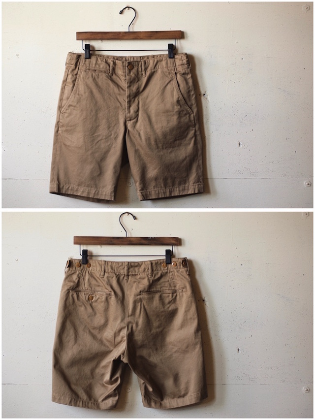 WORKERS Officer Shorts USMC Khaki-4