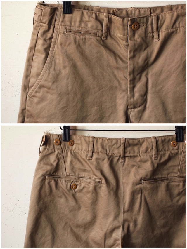 WORKERS Officer Shorts USMC Khaki-5