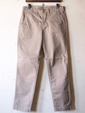 Workers Officer Trousers Slim Type2 Beige-Link