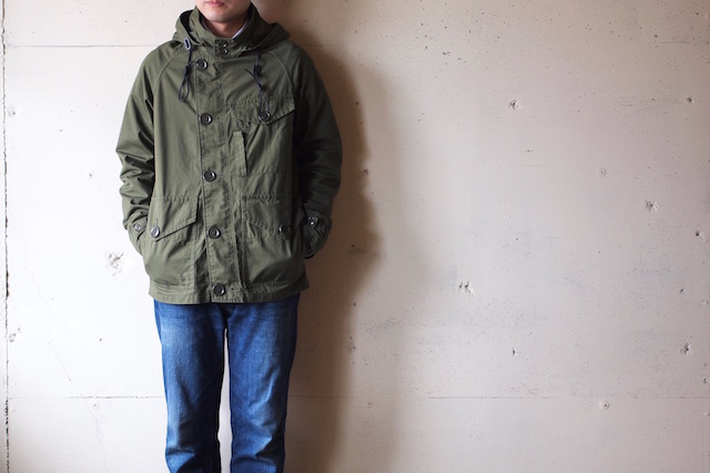 WORKERS RAF PARKA Ventile Cotton OD-2