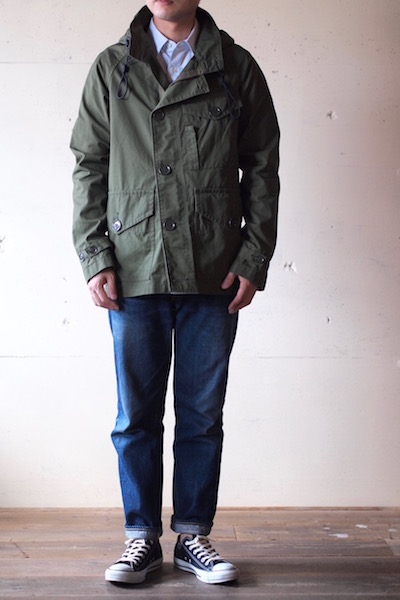 WORKERS RAF PARKA Ventile Cotton OD-3