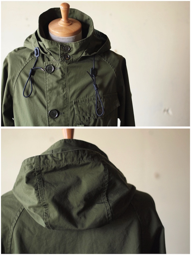 WORKERS RAF PARKA Ventile Cotton OD-5