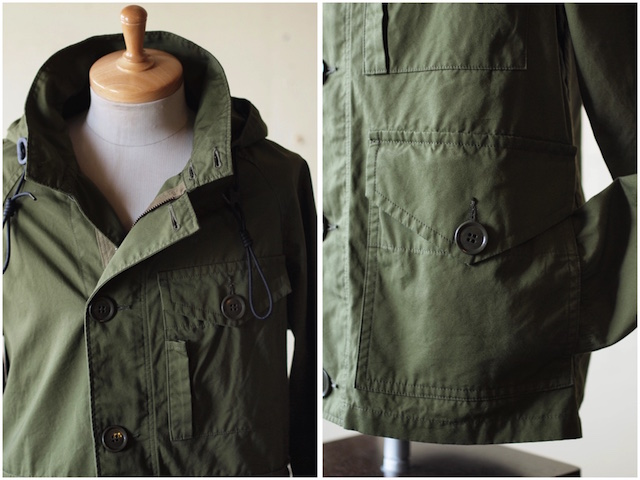 WORKERS RAF PARKA Ventile Cotton OD-6