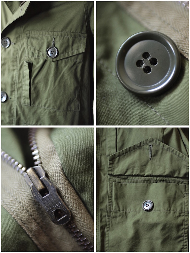 WORKERS RAF PARKA Ventile Cotton OD-8