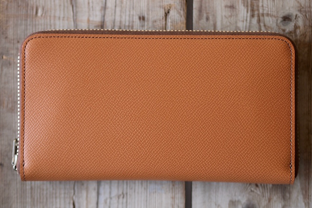 WORKERS Round Zip Long Wallet Noblessa Calf-2