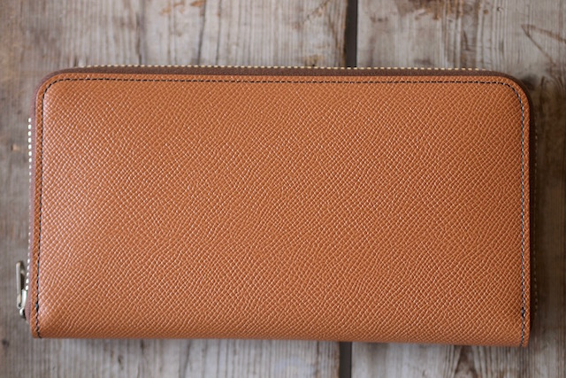 WORKERS Round Zip Long Wallet Noblessa Calf-3