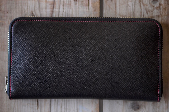 WORKERS Round Zip Long Wallet Noblessa Calf-5