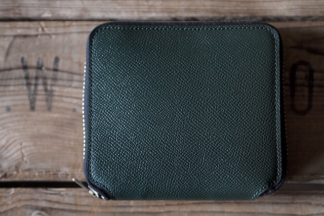 WORKERS Round Zip Medium Wallet Noblessa Calf-4
