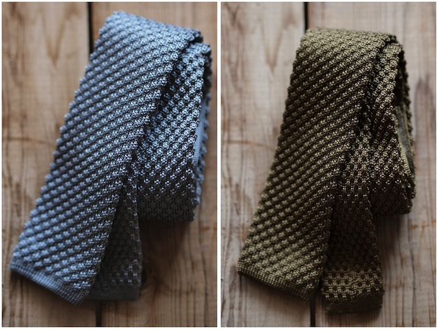 WORKERS Silk Knit Tie, 2015 F/W-4