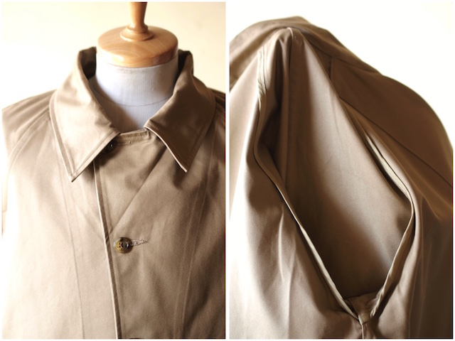 WORKERS Single T-Coat Heavy Ventile Beige-4