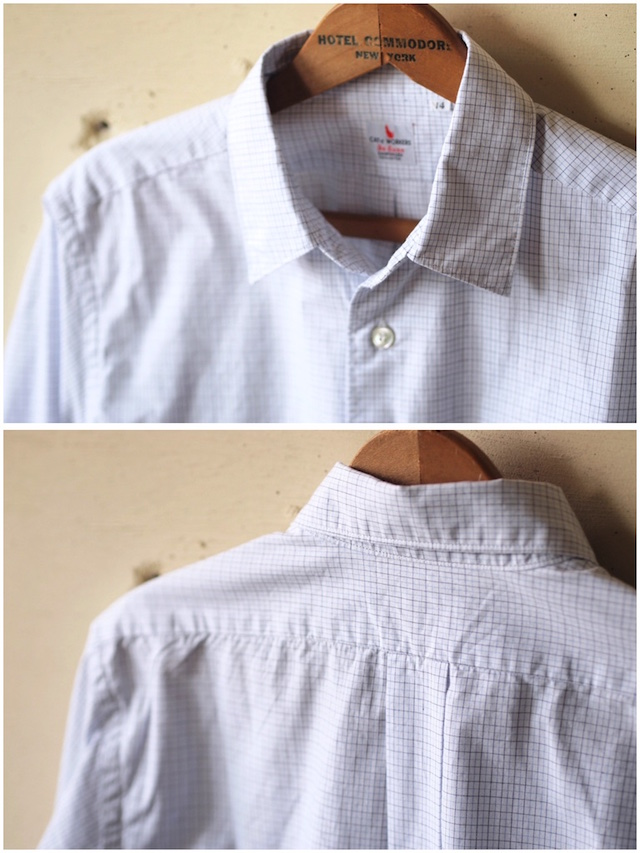 WORKERS Standard Shirt Graph Check-5