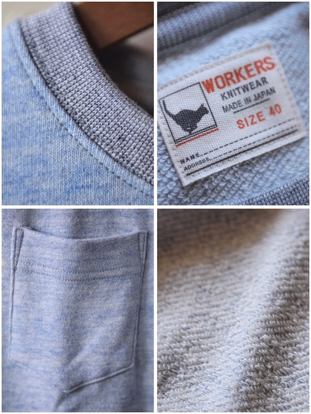WORKERS UL SS Sweat Shirt 2-Tone-3